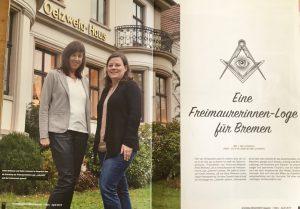 Das Labyrinth ist im Schwachhausen-Magazin